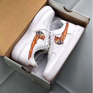 bfb385dde2874f65 300x300 - Nike Air Force 1 Low 空軍一號 鬼火鉤 情侶款 白色 休閒板鞋-秒殺款❤️
