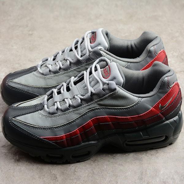 Nike Air Max 95 Essential男鞋 深灰紅 氣墊跑步鞋 運動 時尚-獨家發售❤️
