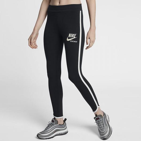 Nike Sportswear 女子 休閑 緊身運動褲 黑色 時尚 百搭-現貨限量❤️