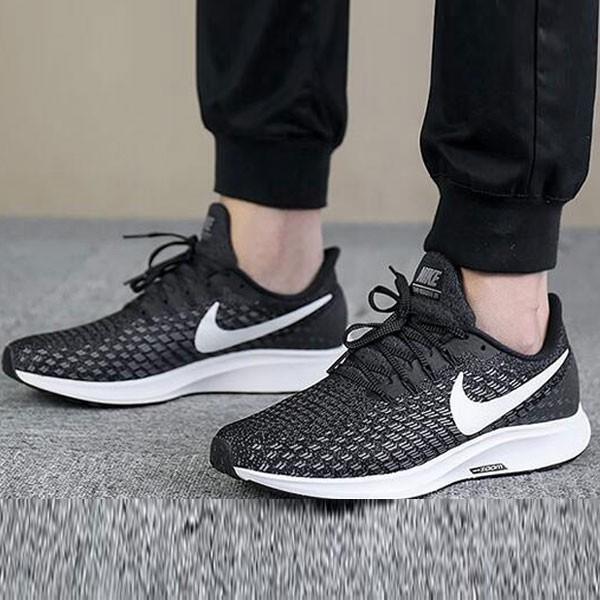 Nike Air Zoom Pegasus 35登月 網面 透氣跑步鞋 男款 黑色-獨家發售❤️