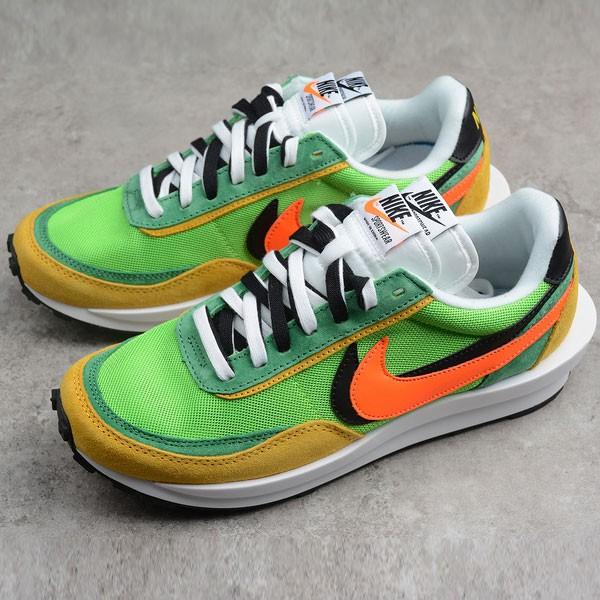 Nike 慢跑鞋 綠黃色 男鞋 網面 透氣 休閒 運動 百搭-新品駕到❤️