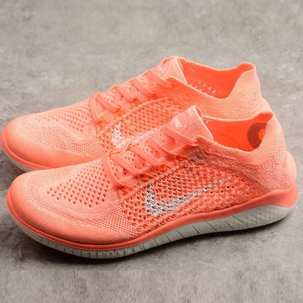 Nike Free rn 女鞋 運動 透氣 針織跑步鞋 橘色 潮流 新款-限時特賣❤️
