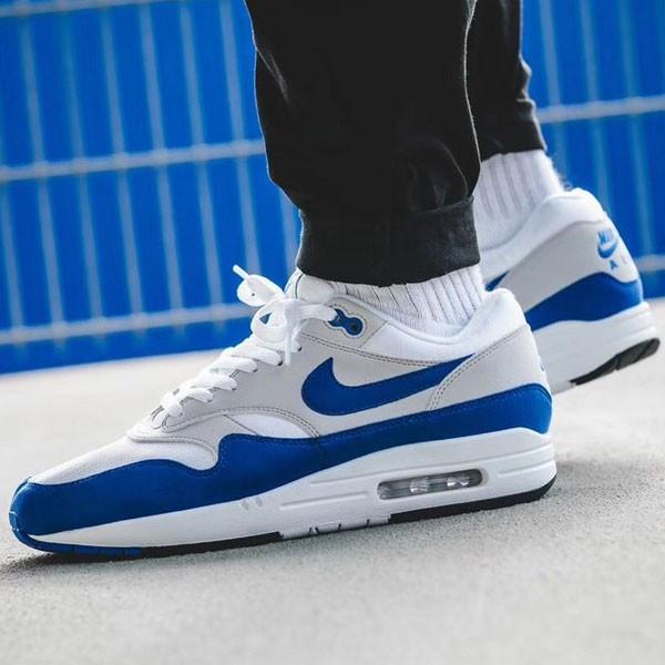 Nike Air Max 1 OG 30周年 元年復刻 灰藍色 慢跑鞋 氣墊鞋-最夯商品❤️