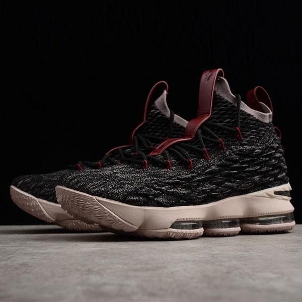 Nike LeBron 15 氣墊籃球鞋 黑色 男款 休閒 運動 防滑 耐磨-新品駕到❤️
