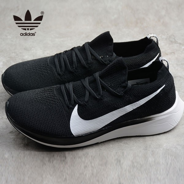Nike Vapor Street Flyknit 黑色 馬拉鬆 跑鞋 情侶款 休閒 百搭-熱銷推薦❤️
