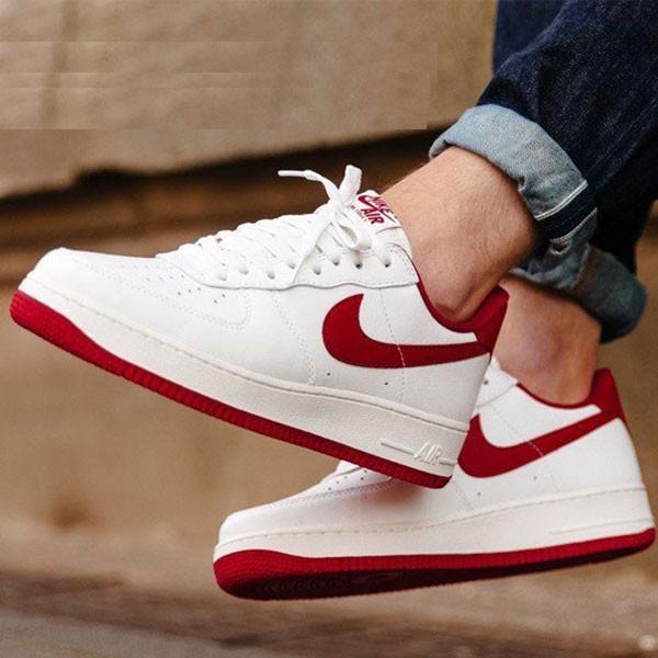 Nike Air Force 1 空軍一號 男款 白紅板鞋 休閒鞋 新品-熱銷推薦❤️