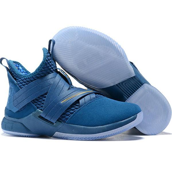 LeBron Soldier XII 詹姆斯 戰士 12代 士兵 籃球鞋 男款 藍色 實戰系列❤️