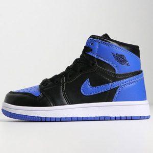 040684db0bdac1bd 300x300 - 喬登1代高幫童鞋系列 Air Jordan 1 喬1黑藍 28-35