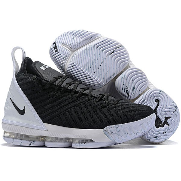 NIKE Lebron LBJ15 詹姆斯16代 男子 實戰 氣墊籃球鞋 黑白色 最高品質❤️