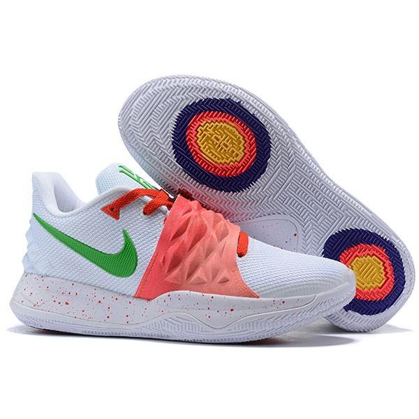 Nike Kyrie4 Low 厄文4 綁帶 低幫 實戰 男子 籃球鞋 白紅色 耐磨戰靴 新品❤️