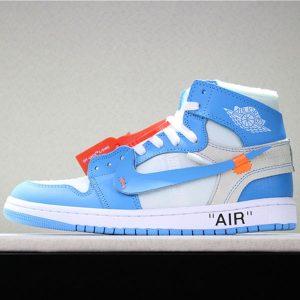 0c418f9b8e34dad4 300x300 - OFF-WHITE x Air Jordan 1 Retro High OG 10X AA3834-101 喬1OFF聯名白藍男女款