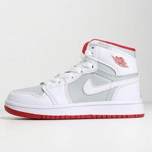 0fd71ab38b3d868b 300x300 - 喬登1代高幫童鞋系列 Air Jordan 1 喬1白灰 28-35