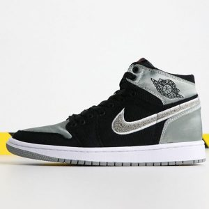 16adf62742090047 300x300 - Air Jordan 1  Aleali May AJ5991-062 喬1綢緞黑銀男女款
