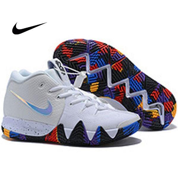 Nike Kyrie4 厄文4代 女子高筒籃球鞋 白色 耐磨 彩底 品質嚴選 現貨限量❤️
