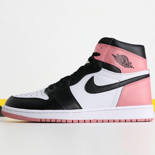 Air Jordan 1 Igloo 861428-101 喬1黒腳趾黑粉男款