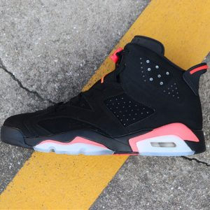 3b54313f4adff9ef 300x300 - Air Jordan 6  Black Infrared 384664-023 喬6黑紅反光男款