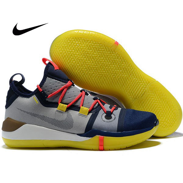 Nike Zoom Kobe AD React 科比AD籃球鞋 深藍灰 低筒 品質保證 現貨秒殺