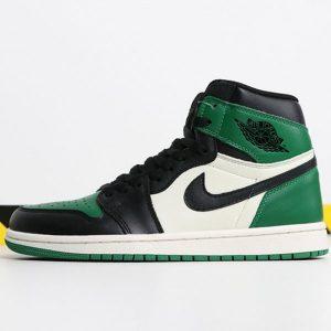 4bc66b9c6b9ccef4 300x300 - Air Jordan 1  Pine Green 555088-302 喬1黑綠腳趾