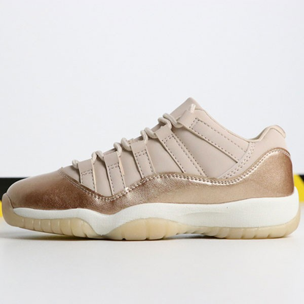 Air Jordan 11 Low GS  Rose Gold AH7860-105 喬11低幫玫瑰金女款