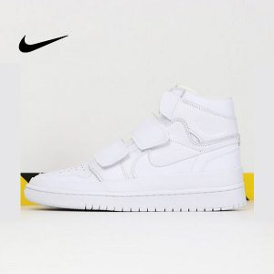 5fac6844588f42eb 1 300x300 - Air Jordan 1 High Double Strap White 喬丹1代 魔術貼 純白色 高筒 最高品質❤️
