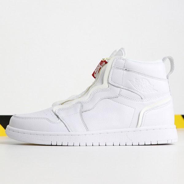 Air Jordan 1 Retro High Zip White AQ3742-116 喬1高幫拉鏈白