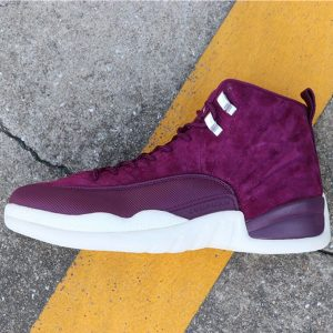 620596400f9fcd88 300x300 - Air Jordan 12 Bordeaux 130690-617 喬12波爾多紅白男款