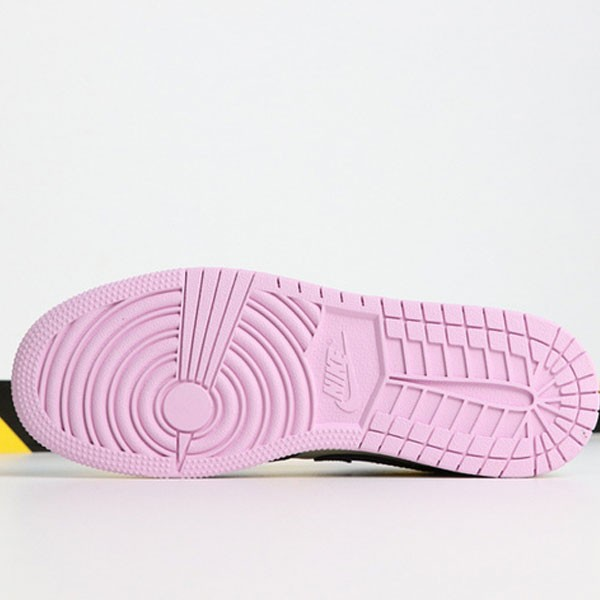 65acf853192db546 - Air Jordan 1 MID 555112-500 喬1中幫灰粉紫葡萄女款