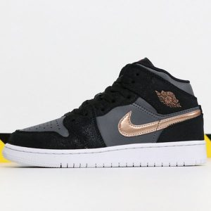 780ba6315e054dd3 300x300 - Air Jordan 1 Mid RETRO HIGH 705300-006 喬1奧運黑金女款