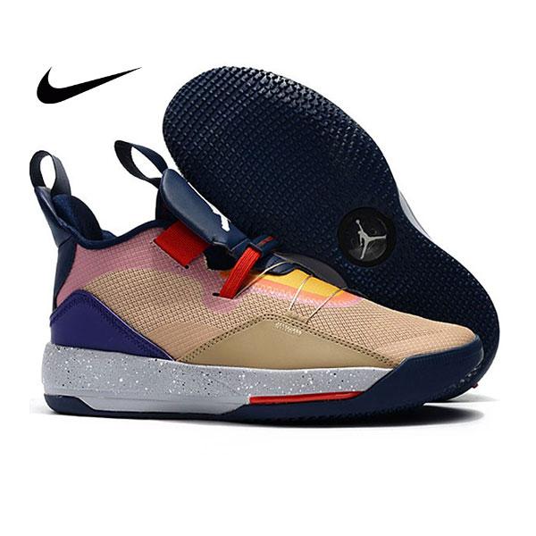 Air Jordan XXXIII 喬丹33代 男子籃球鞋 拼接色 高筒 最高品質 新品駕到❤️