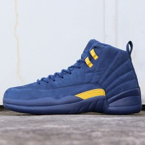 966a79a87392eba6 300x300 - Air Jordan 12 Michigan  BQ3180-407 喬12密歇根藍黃麂皮男款