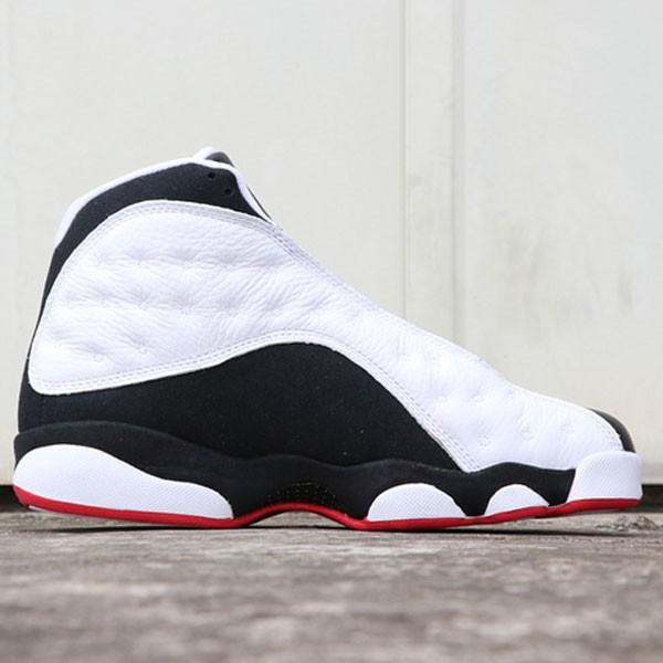 99431b39d50bd09c - Air Jordan 13  He Got Game 414571-104 喬13復刻黑白熊貓男女款
