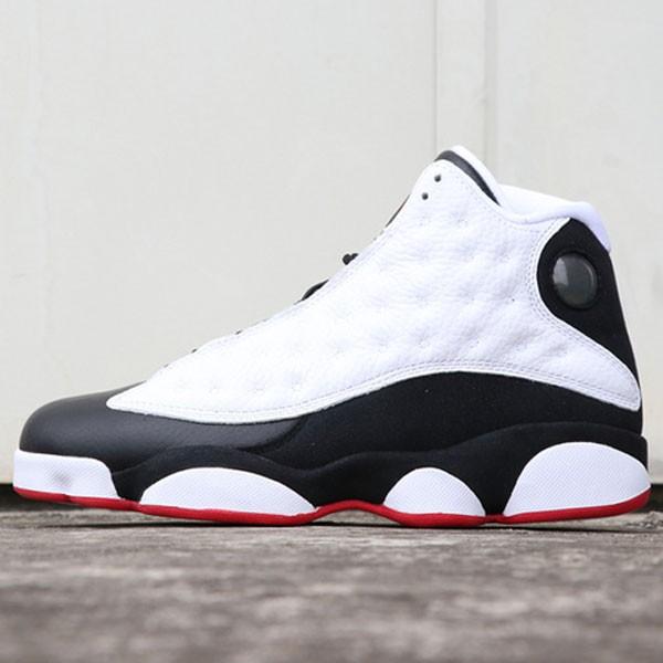 Air Jordan 13  He Got Game 414571-104 喬13復刻黑白熊貓男女款