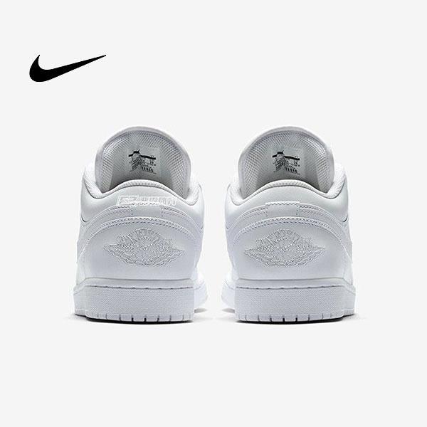 O1CN01IxZ8OL2MVZ02p4aZl 4279589833 - Air Jordan 1 Low Triple White 全白 低幫籃球鞋 休閒板鞋 男款 經典款 時尚❤️
