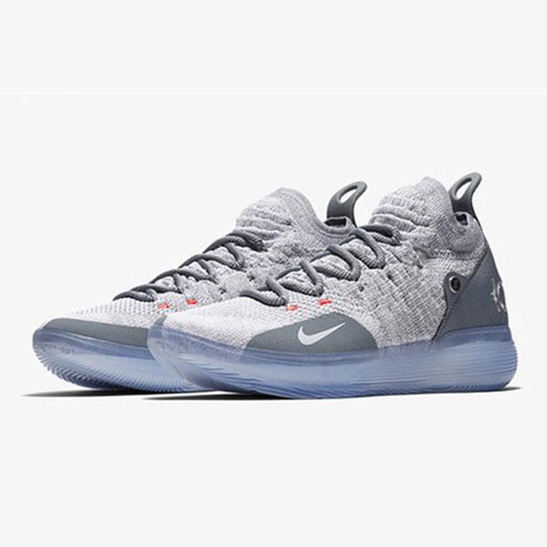 O1CN01PD2P9h1xzSSpWxXQD 2200624796514 - Nike Zoom KD11代 飛織 中幫 耐磨 籃球鞋 灰色 水晶底 男款 熱銷推薦❤️