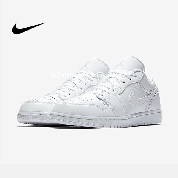 O1CN01pZC7En2MVZ0123Z1M 4279589833 - Air Jordan 1 Low Triple White 全白 低幫籃球鞋 休閒板鞋 男款 經典款 時尚❤️