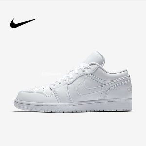 O1CN01qnJZl22MVZ04D2cpW 4279589833 300x300 - Air Jordan 1 Low Triple White 全白 低幫籃球鞋 休閒板鞋 男款 經典款 時尚❤️