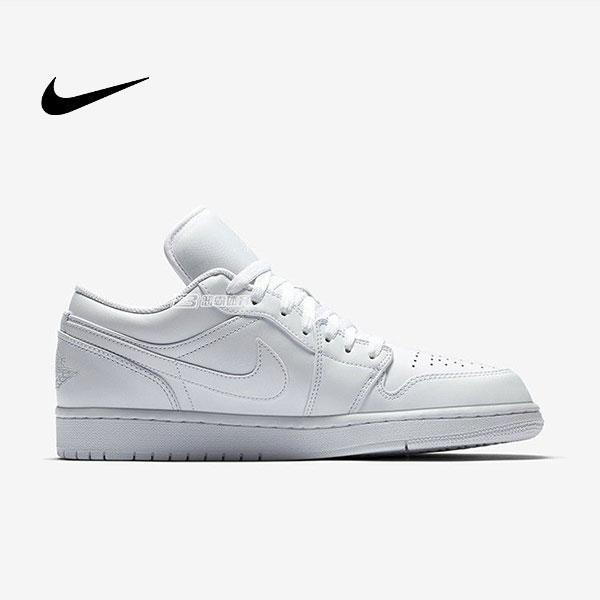 O1CN01wXOp8n2MVZ03QIcxz 4279589833 - Air Jordan 1 Low Triple White 全白 低幫籃球鞋 休閒板鞋 男款 經典款 時尚❤️