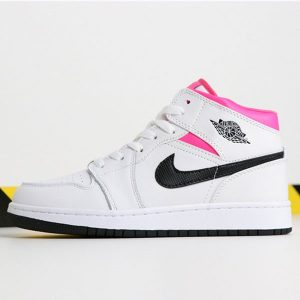 a055629b730fddec 300x300 - Air Jordan 1 Mid  Hyper Pink 555112-106 喬1中幫粉紅鴛鴦女款