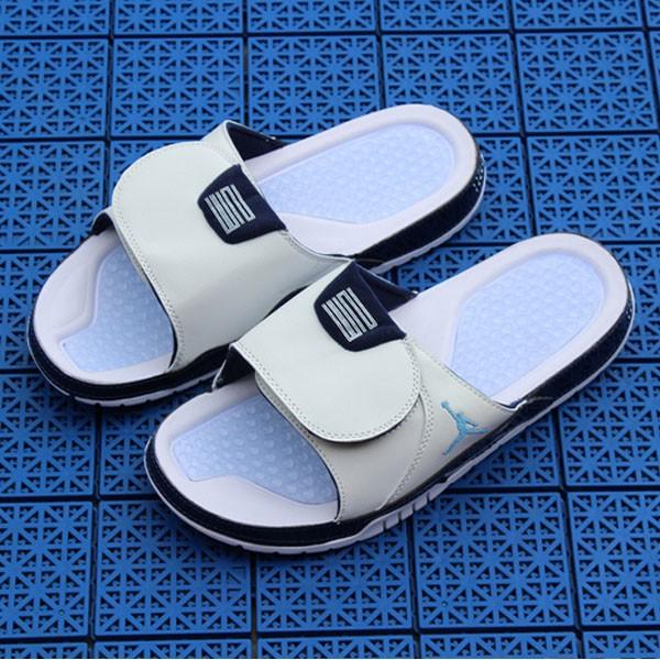 Air Jordan 喬丹系列拖鞋  AJ拖鞋 喬2拖鞋 喬4拖鞋 喬5拖鞋 喬7拖鞋 喬11拖鞋 喬11拖鞋白藍男款