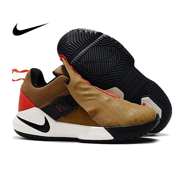 Nike Ambassador XI 詹姆斯使節11代低筒籃球鞋 棕色 無鞋帶戰靴 超熱賣❤️