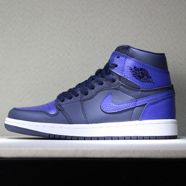 Air Jordan 1 Pairs Obsidian And Royal 男子籃球鞋