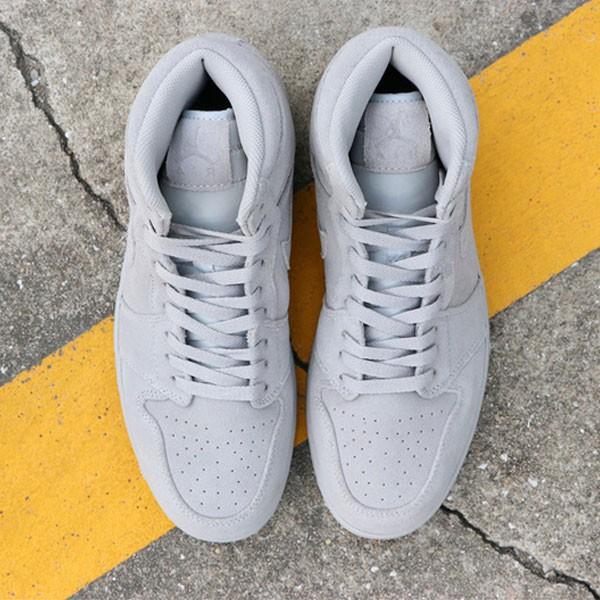 a5fc71ce3fabd978 - Air Jordan 1 Retro High  Grey Suede 喬1灰麂皮 332550-031男款