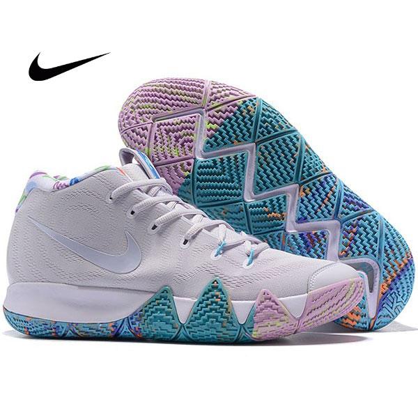 Nike Kyrie4 厄文4代 女子低幫籃球鞋 白色 內部塗鴉 實戰 最高品質❤️