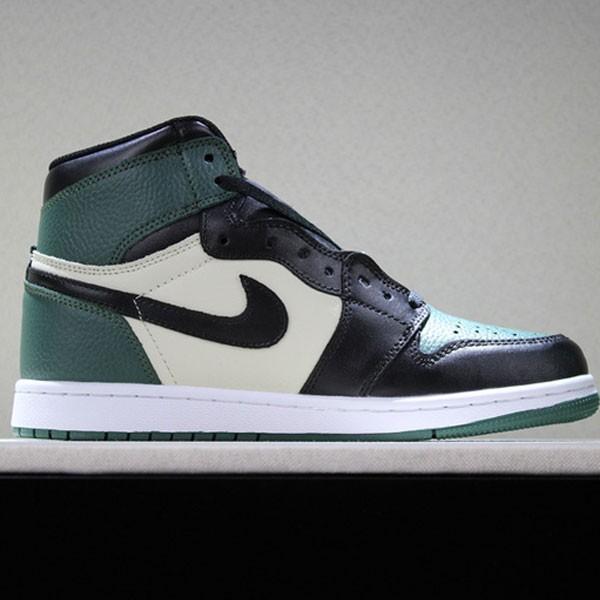 aeef8430f84cfea4 - 喬丹1代 Air Jordan 1 Pine Green 喬1黑綠腳趾男女款