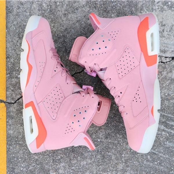 ce5a0e5a88381c5e - Air Jordan 6 Millennial Pink 384664-031 喬6粉紅外線男款