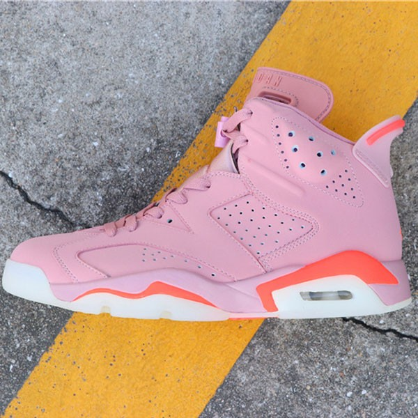 Air Jordan 6 Millennial Pink 384664-031 喬6粉紅外線男款