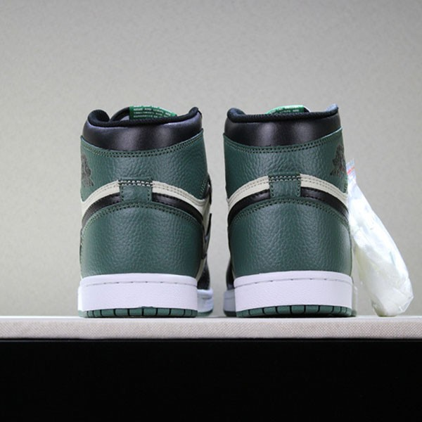 da49f23970c7c0bc - 喬丹1代 Air Jordan 1 Pine Green 喬1黑綠腳趾男女款