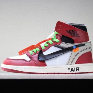 e66a7d735c342a6c 300x300 - OFF-WHITE x Air Jordan 1 Retro High OG 10X AA3834-101 喬1OFF聯名白紅男女款