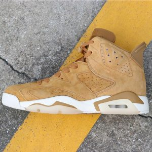 f5d485cf31fa8485 300x300 - Air Jordan 6 Wheat  384664-705 喬6麂皮小麥色男款