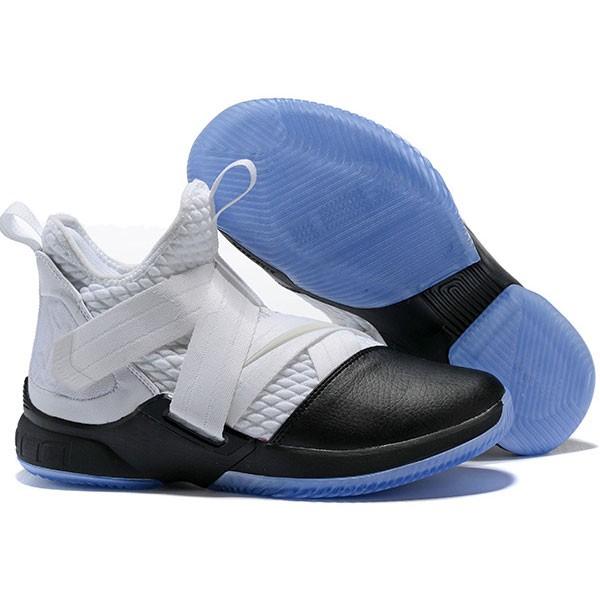 LeBron Soldier XII 詹姆斯 戰士 12代 士兵 高筒籃球鞋 男款 白黑色 秒殺款❤️